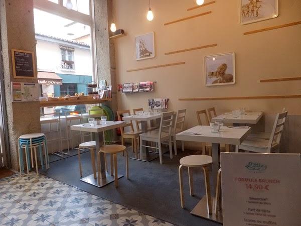 Lyon little restaurant brunch presqu'île ampère
