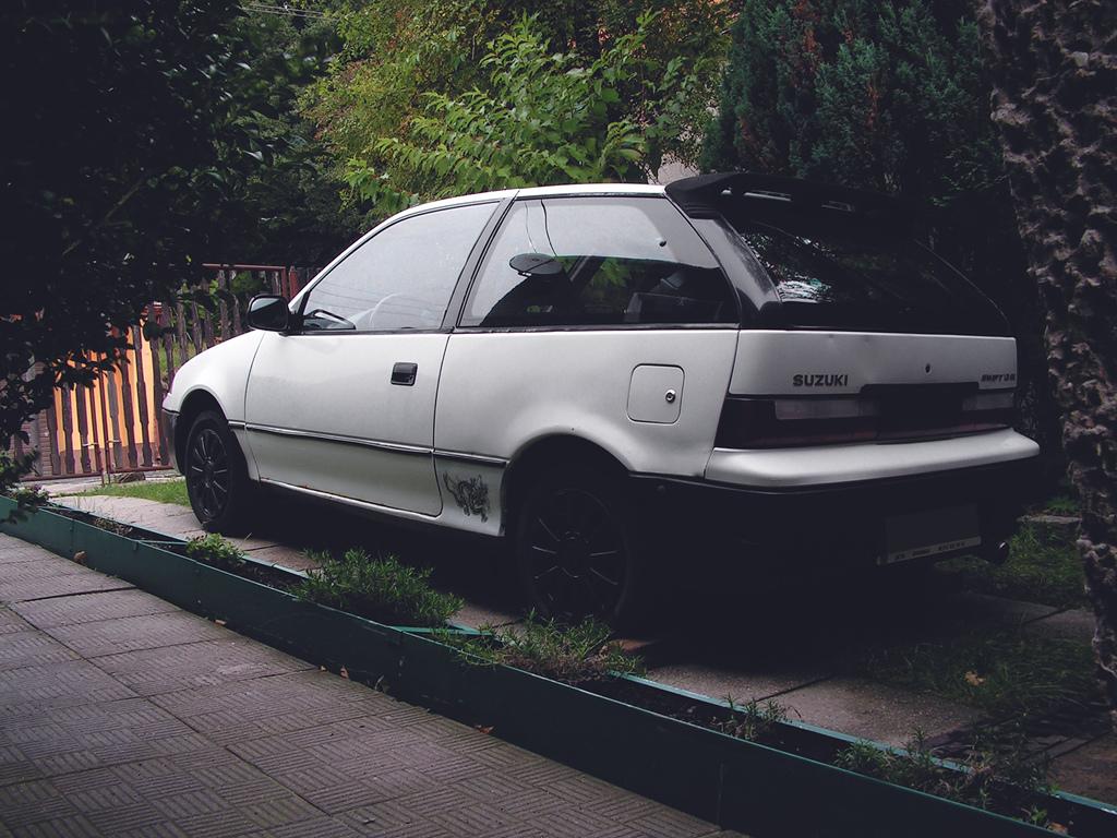 Suzuki Swift II, MK3, 1.3 GS, 1991, staryjaponiec, mój samochód, スズキ スイフト