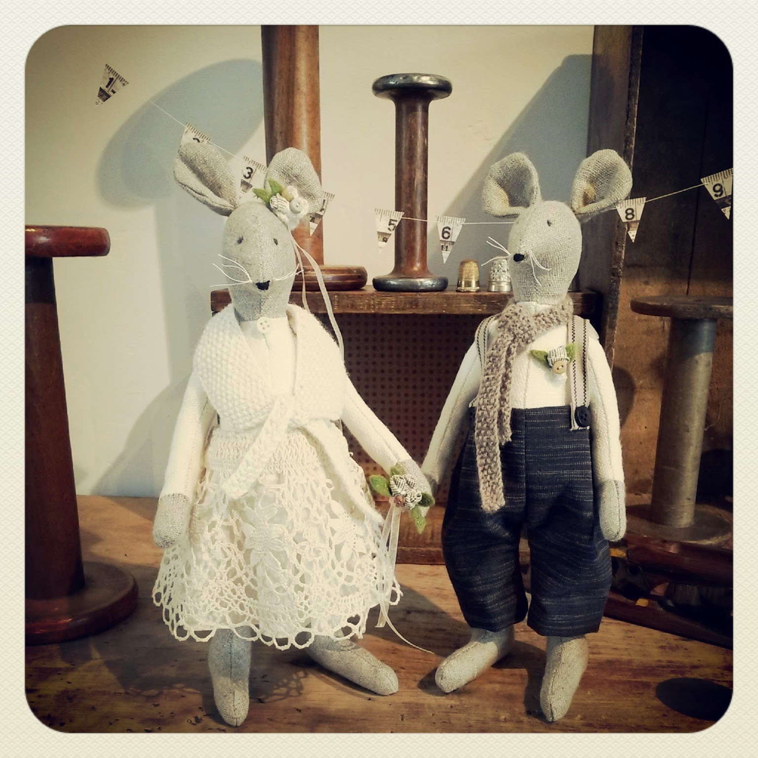 Mr & Mrs Mill Mice