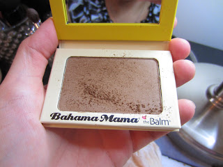 the balm bahama mama bronzer swatch review