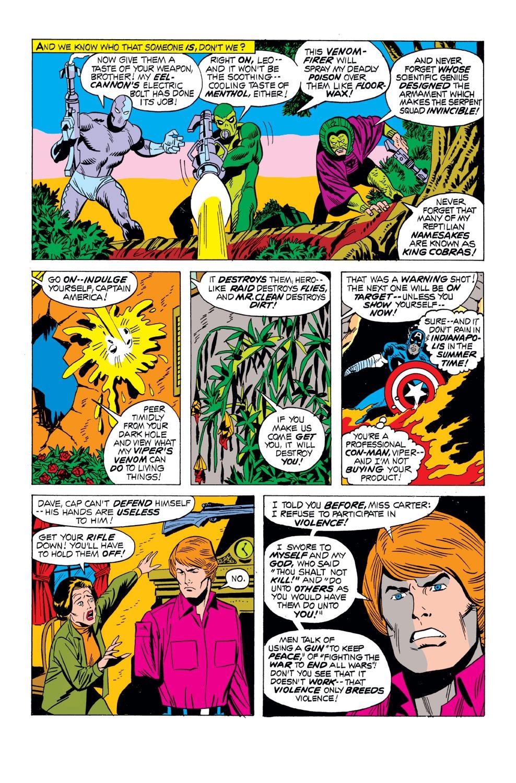 Captain America (1968) Issue #163 #77 - English 14