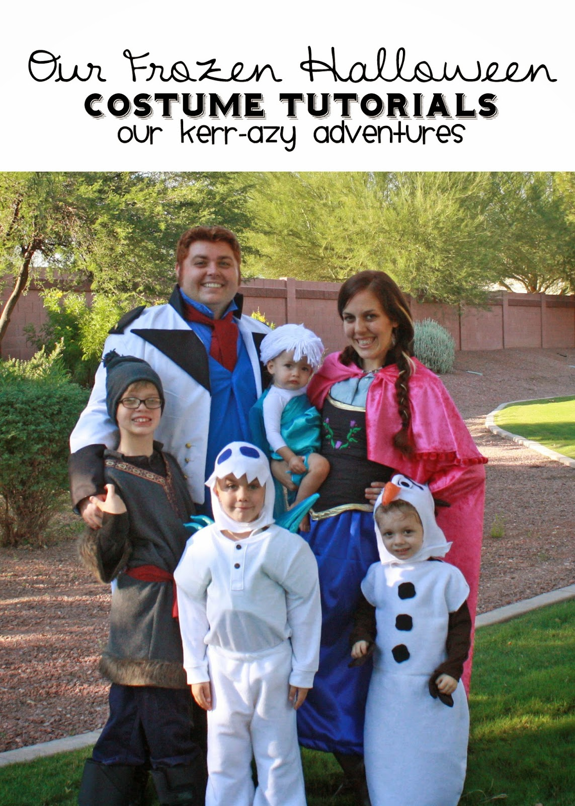 our kerrazy adventure: family halloween costumes!!!