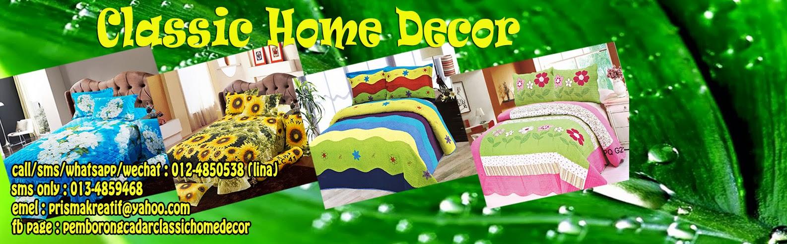 Cadar Classic Home Decor (100% cotton)