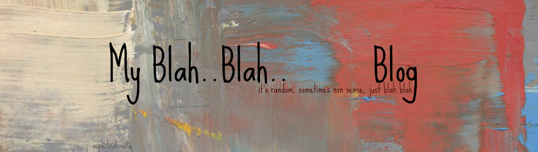 My blah..blah..blog