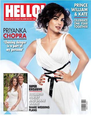 priyanka chopra shoot for hello magazine scan hot photoshoot