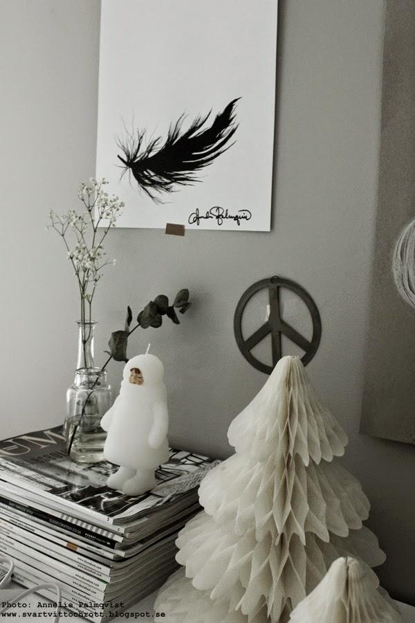 konsttryck, artprint, artprints, print, prints, poster, posters, tavlor, tavla, på väggen, peace, svart fjäder, fjädrar, fjädern