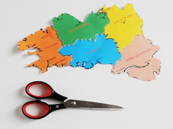 DIY : Le tableau carte de Bretagne