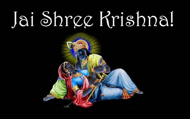 Radha Krishna Neon HD Wallpapers