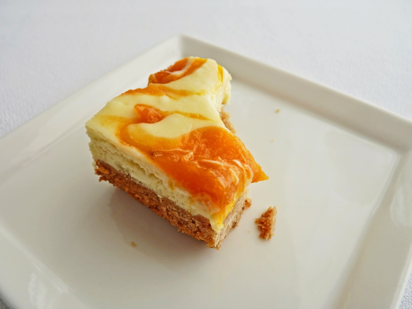 and apricot cheesecake bars apricot swirl cheesecake bars apricot ...