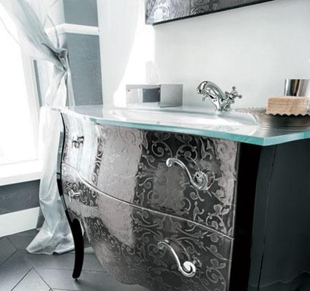 Muebles de ba o de lujo dise os de ba os - Muebles de bano estilo antiguo ...