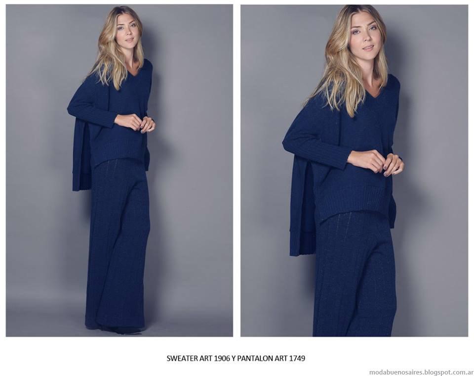 Moda invierno 2015 ropa de mujer. Agostina BIanchi invierno 2015.