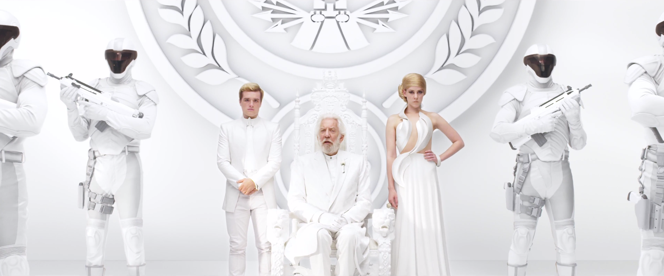 "New Second Mockingjay Part 1 Teaser Trailer HD featuring Peeta, Johanna, President Snow and Beetee ""Unity"""