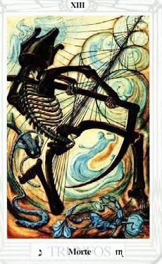 Resultado de imagen de muerte tarot