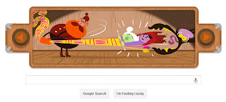 Google's doodle, end of the world, Brother Grimms