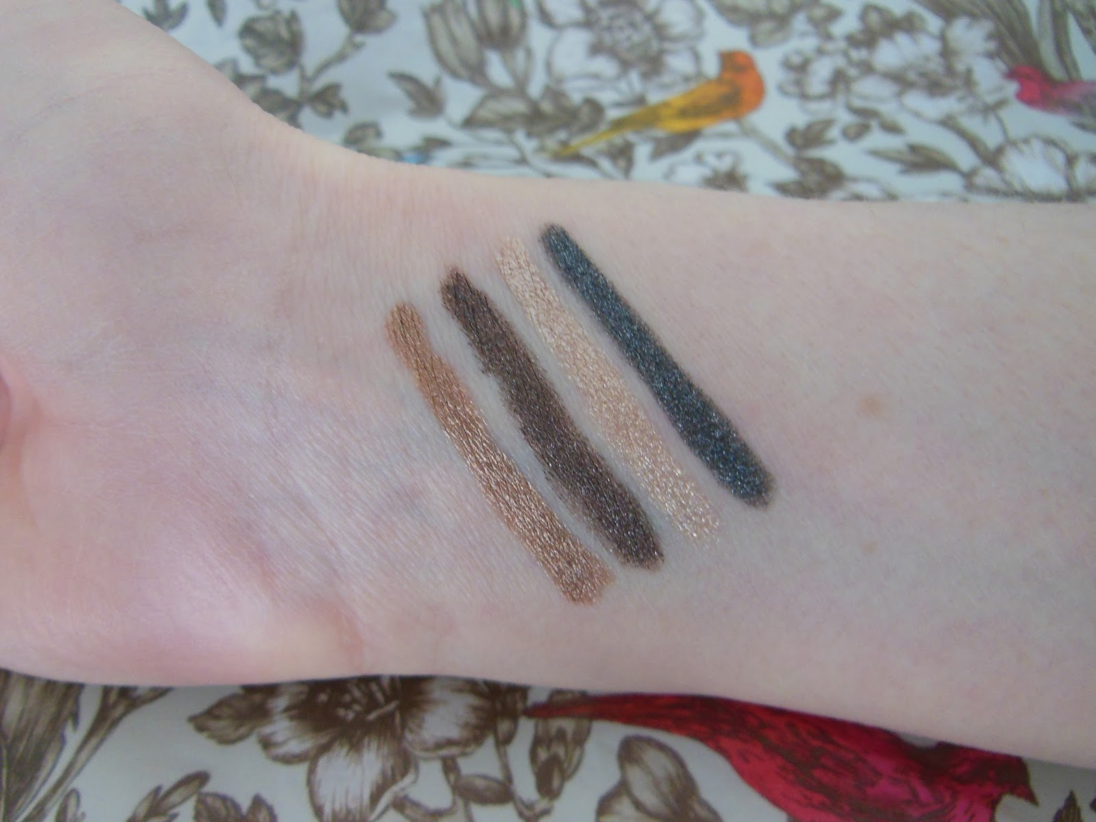 GOSH forever eye shadow stick swatches