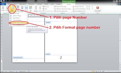 Cara Menghilangkan Nomor Halaman Pada Cover