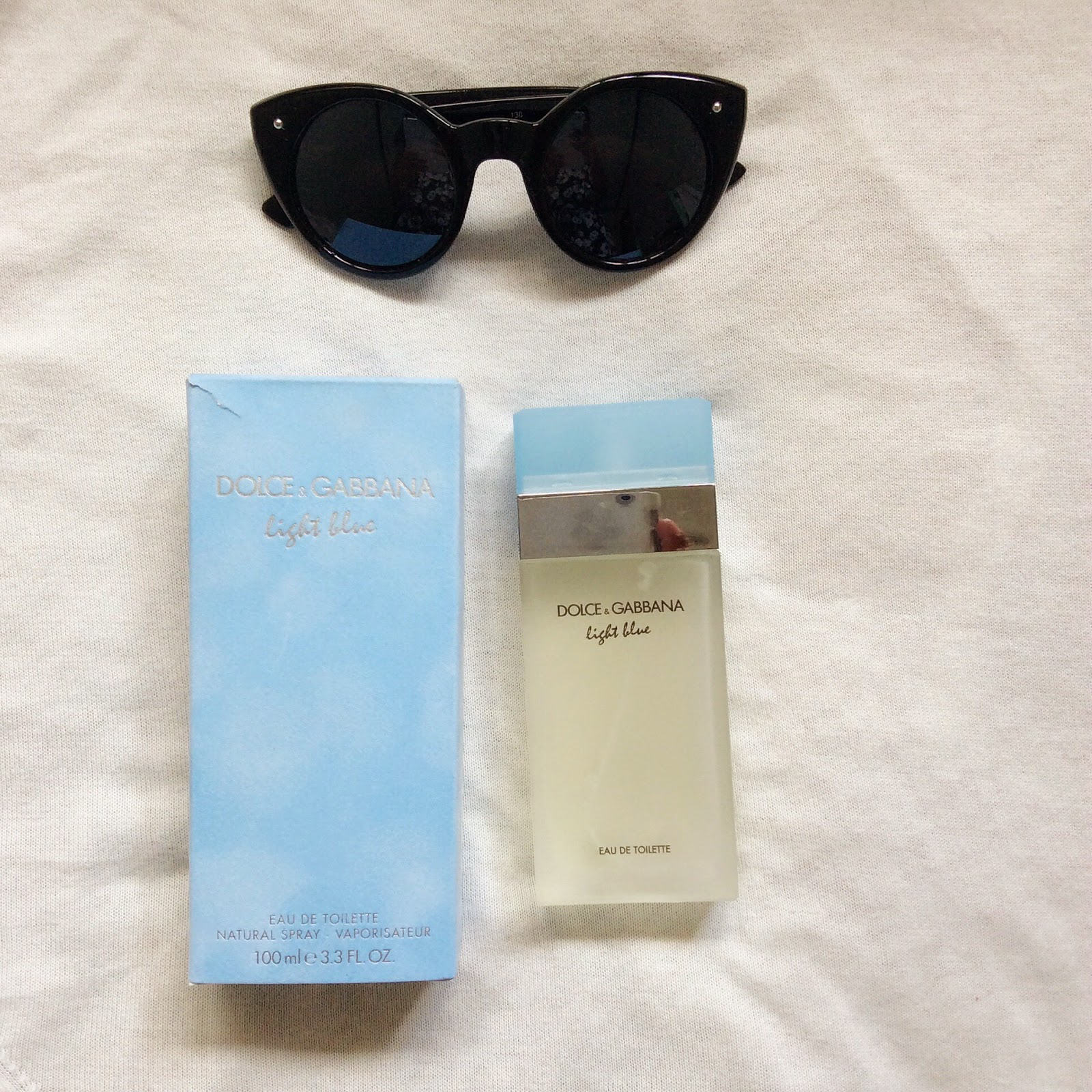 Recently, My Grandmother Came Home From Japan And Gave Me And My Mother The  Famed Du0026G Light Blue Perfume For Women. As I Read The Concept On How