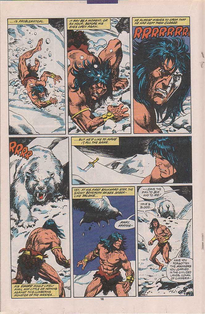 Conan the Barbarian (1970) Issue #258 #270 - English 13