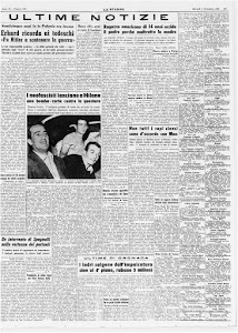 LA STAMPA 1 SETTEMBRE 1964