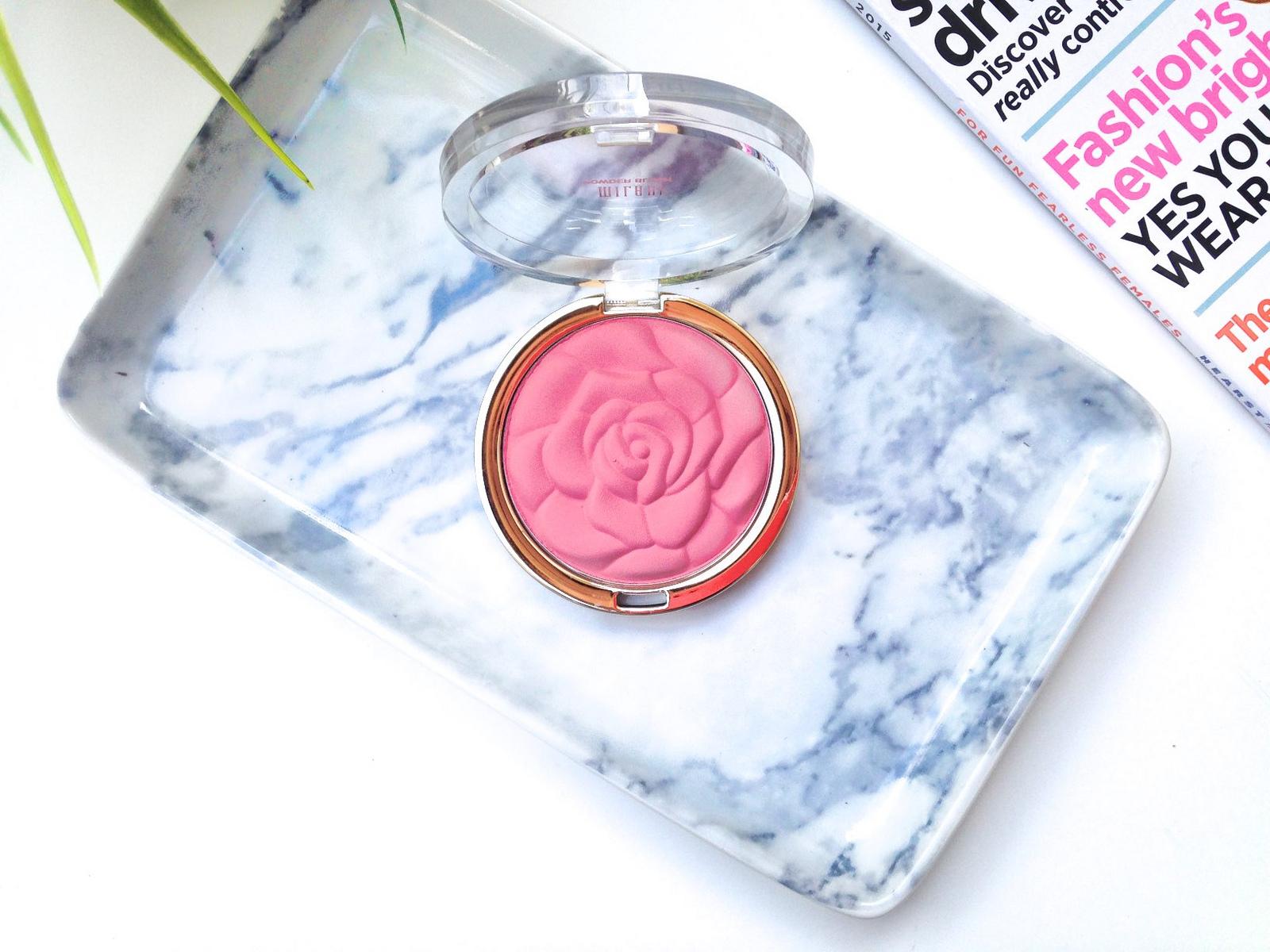 Milani Rose Powder Blush in Tea Rose Review