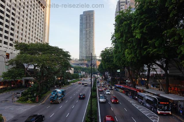 IOS Hochhaus an der Orchard Road, Singapur