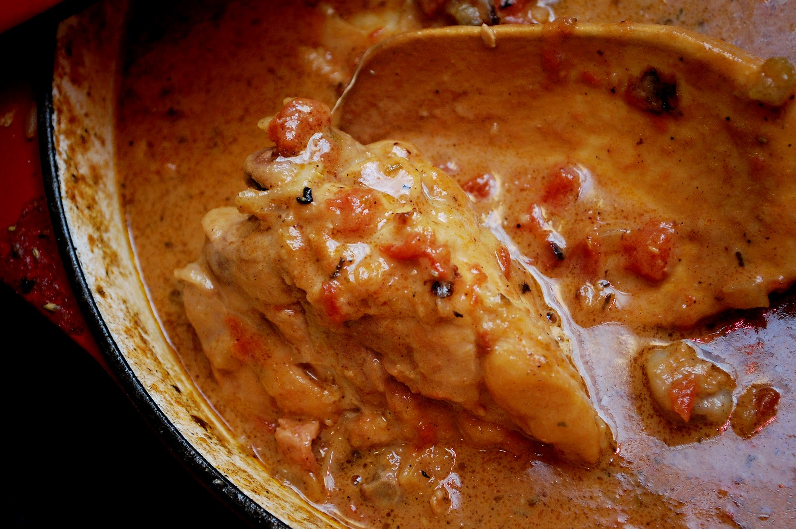 Feathered Nest: Cooking 101 - Old World Chicken Cacciatore