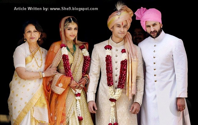 Soha Ali Khan, Kunal Kemmu Wedding Picture Album, Mehndi, Barat