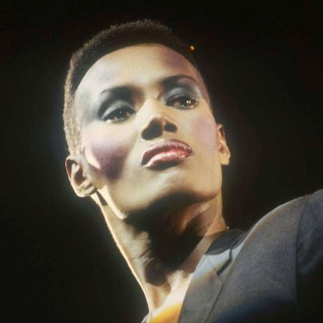 The androgynous Grace Jones court defined the counterculture of the 80s.