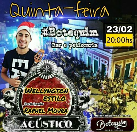 FOLIA NO BOTEQUIM