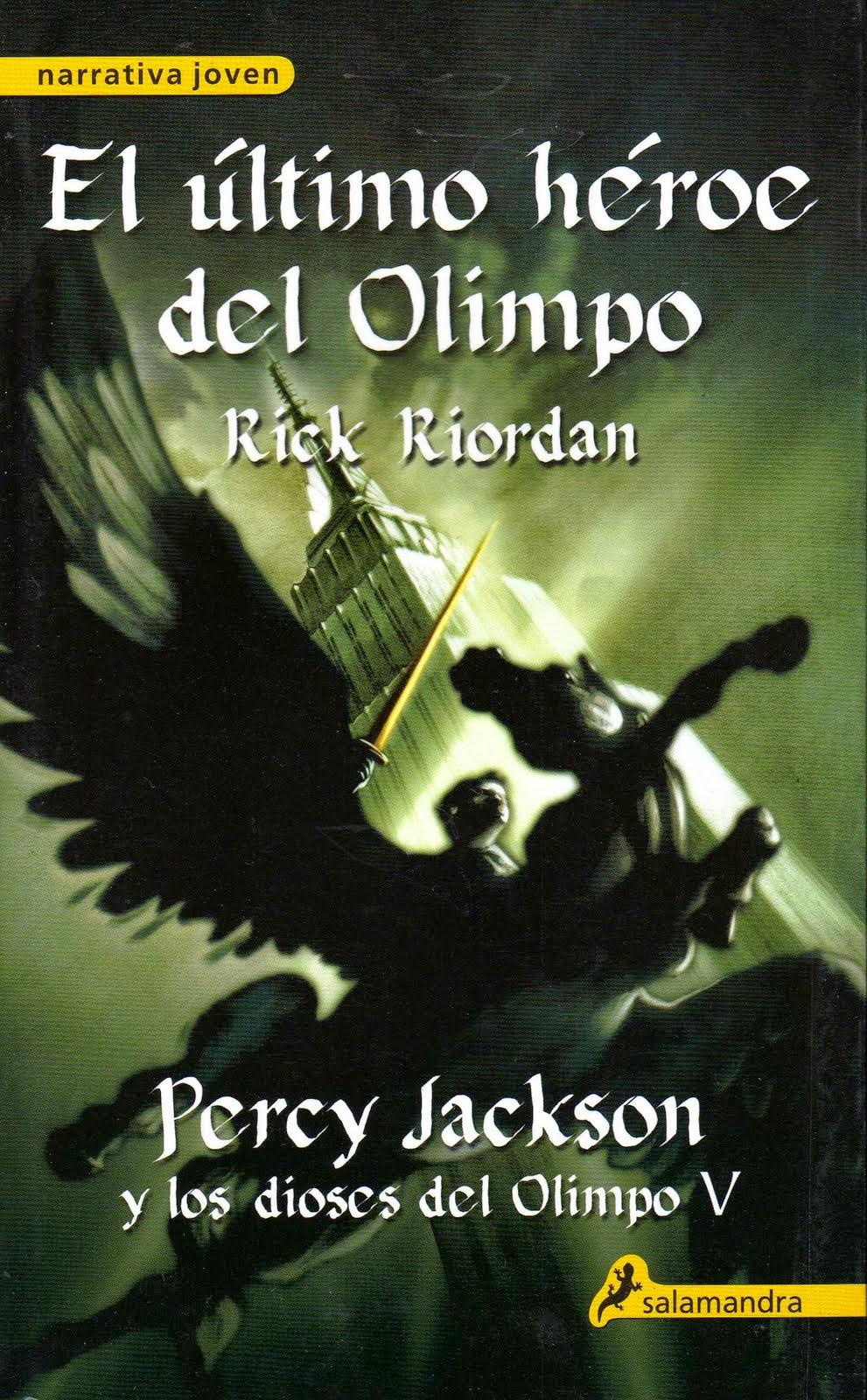 Percy Jackson y los Dioses del Olimpo: El último héroe del Olimpo