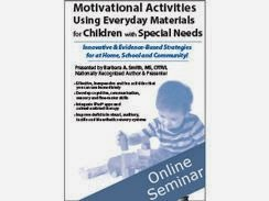 Motivational Activities Using Everyday Materials for Children with special Needs