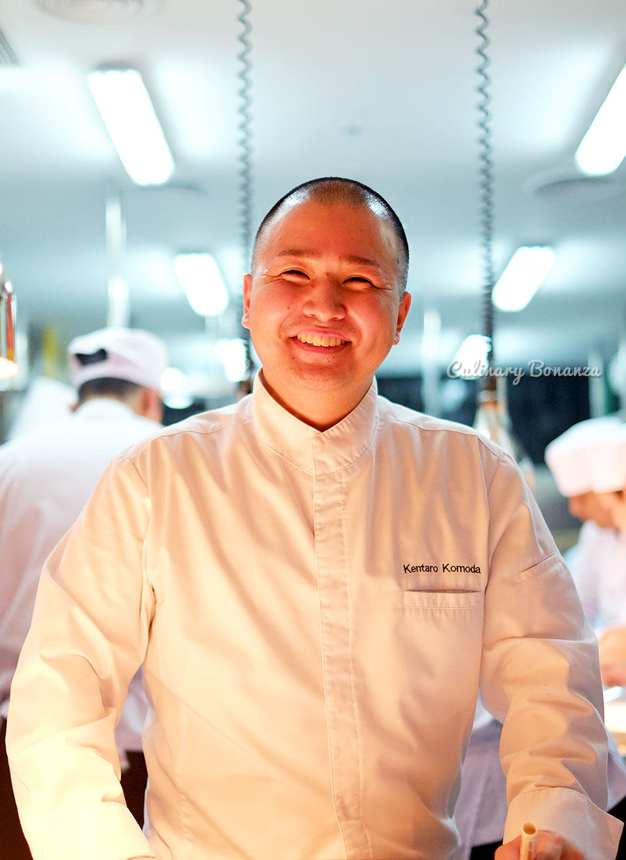 Executive Chef Kentaro Komoda of Vue46 by Les Amis (www.culinarybonanza.com)
