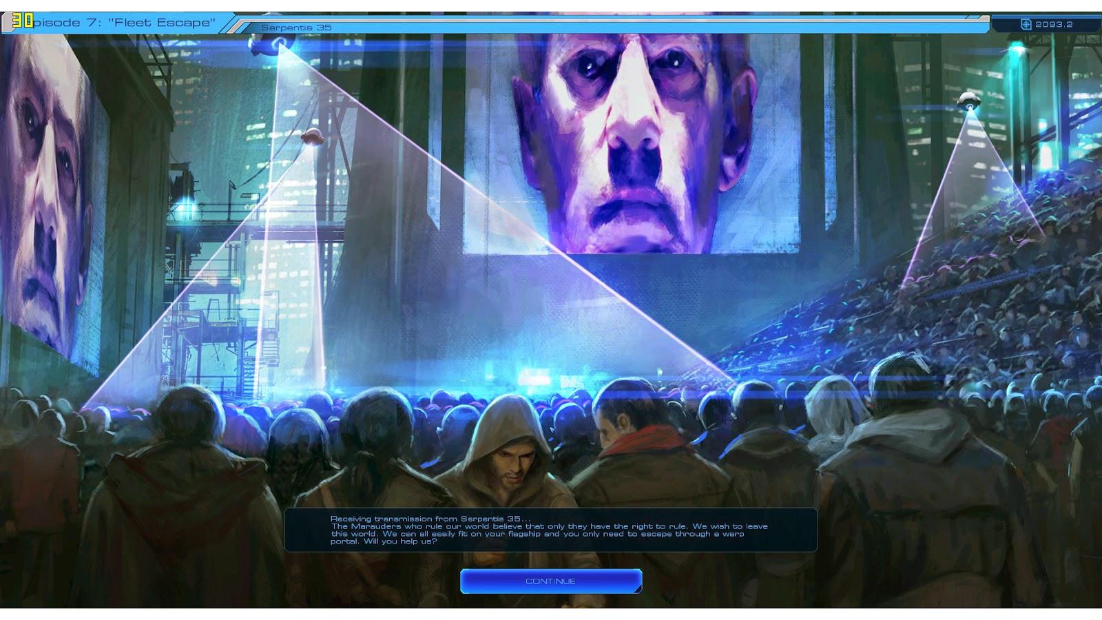 Sid Meier's Starships Planet Mission