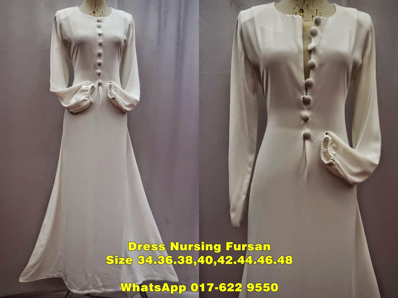 Basic PLain Nursing Dress