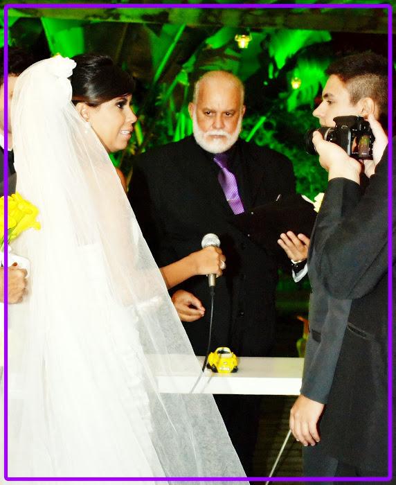 CASAMENTO DE DANIEL E THATIANA : 05/04/2012.