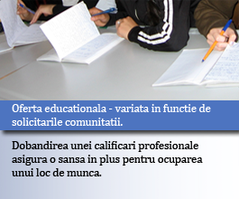 Oferta educationala