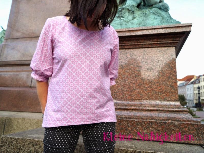 Kleine Nähigkeiten: Hallo Sophie - Schnittmuster für eine Bluse