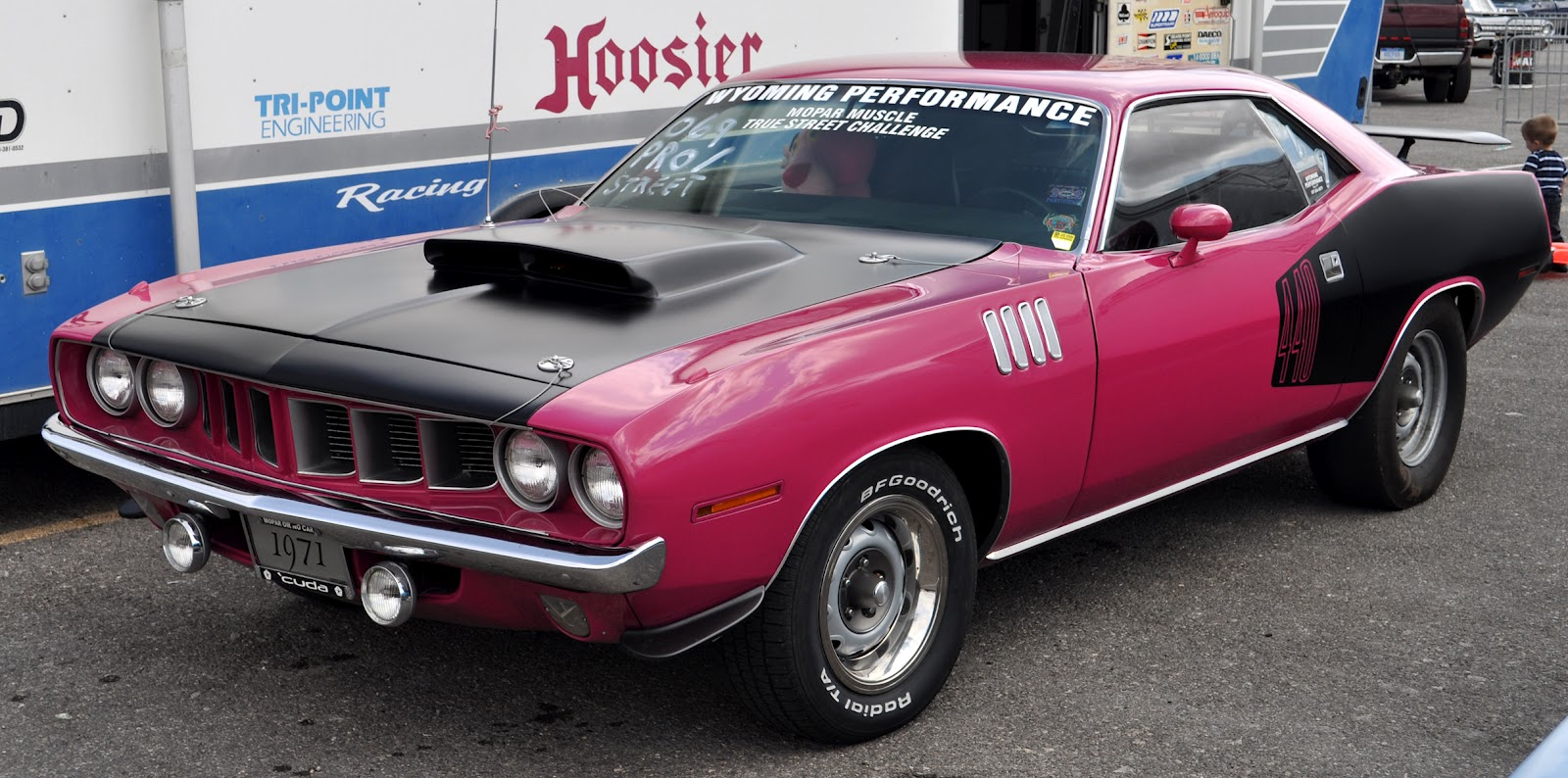 Just A Car Guy Pink Mopars The Only Pink Musclecar
