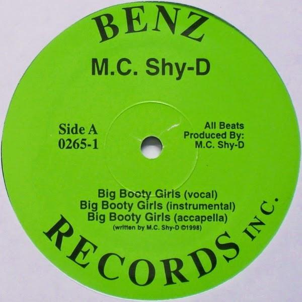 MC Shy D / Tha Rhythum - Big Booty Girls/Everybody Bounce