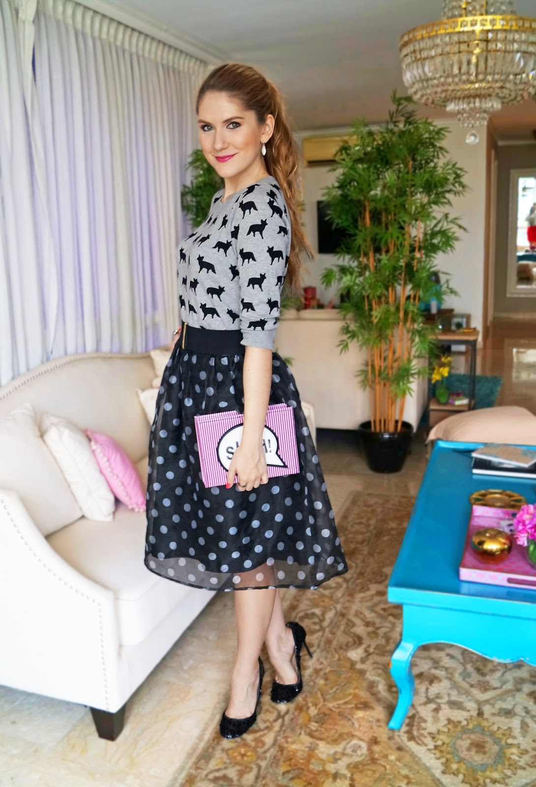 Super Cute outfit mixing patterns