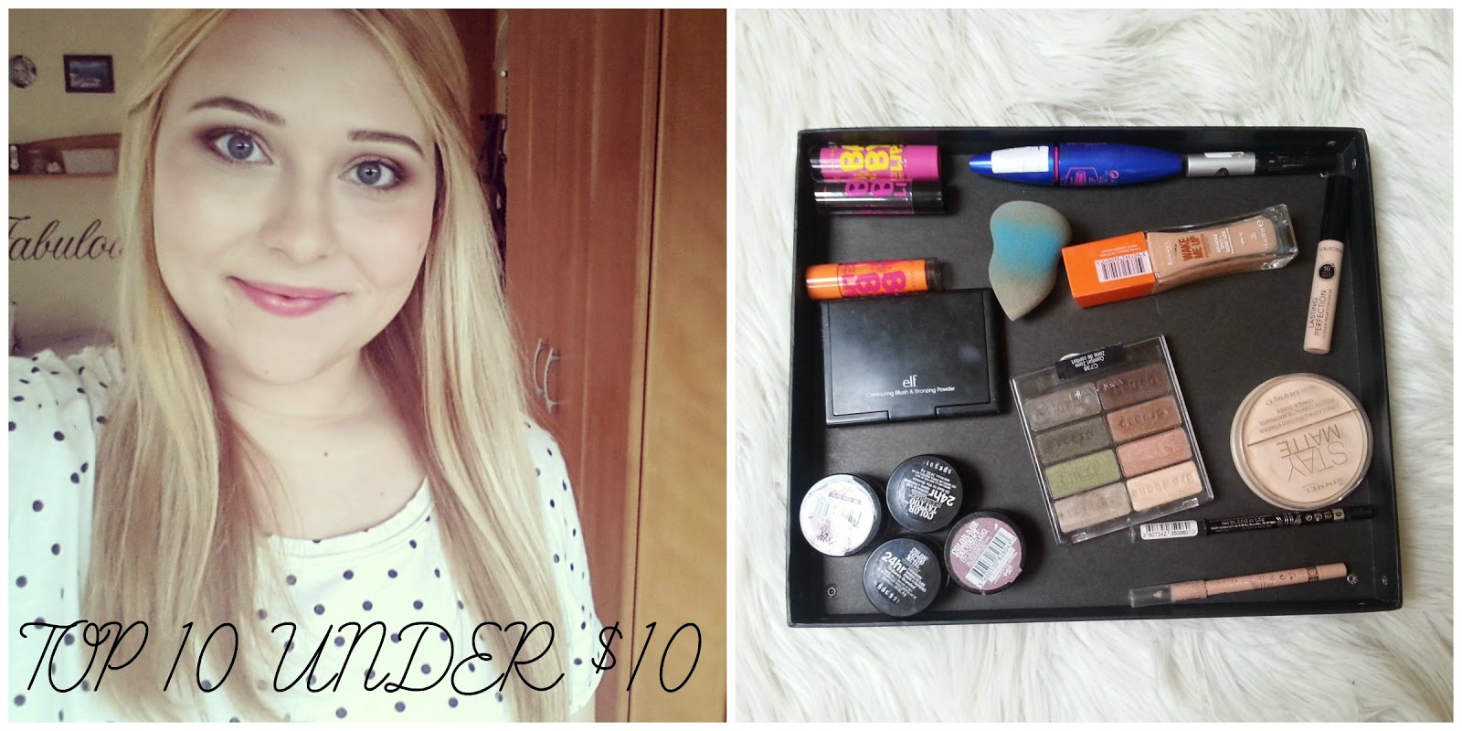 Top 10 Drugstore Make-up Products Under $10