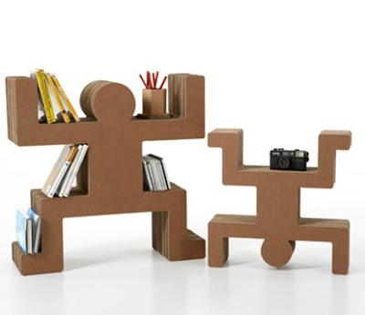 Como fabricar muebles con carton reciclado aprender for Fabricar muebles