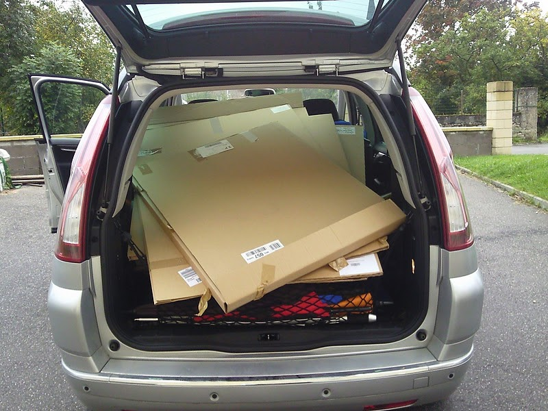 Le gronopost table de chevet en carton pour lit mezz - Chevet pour lit mezzanine ...