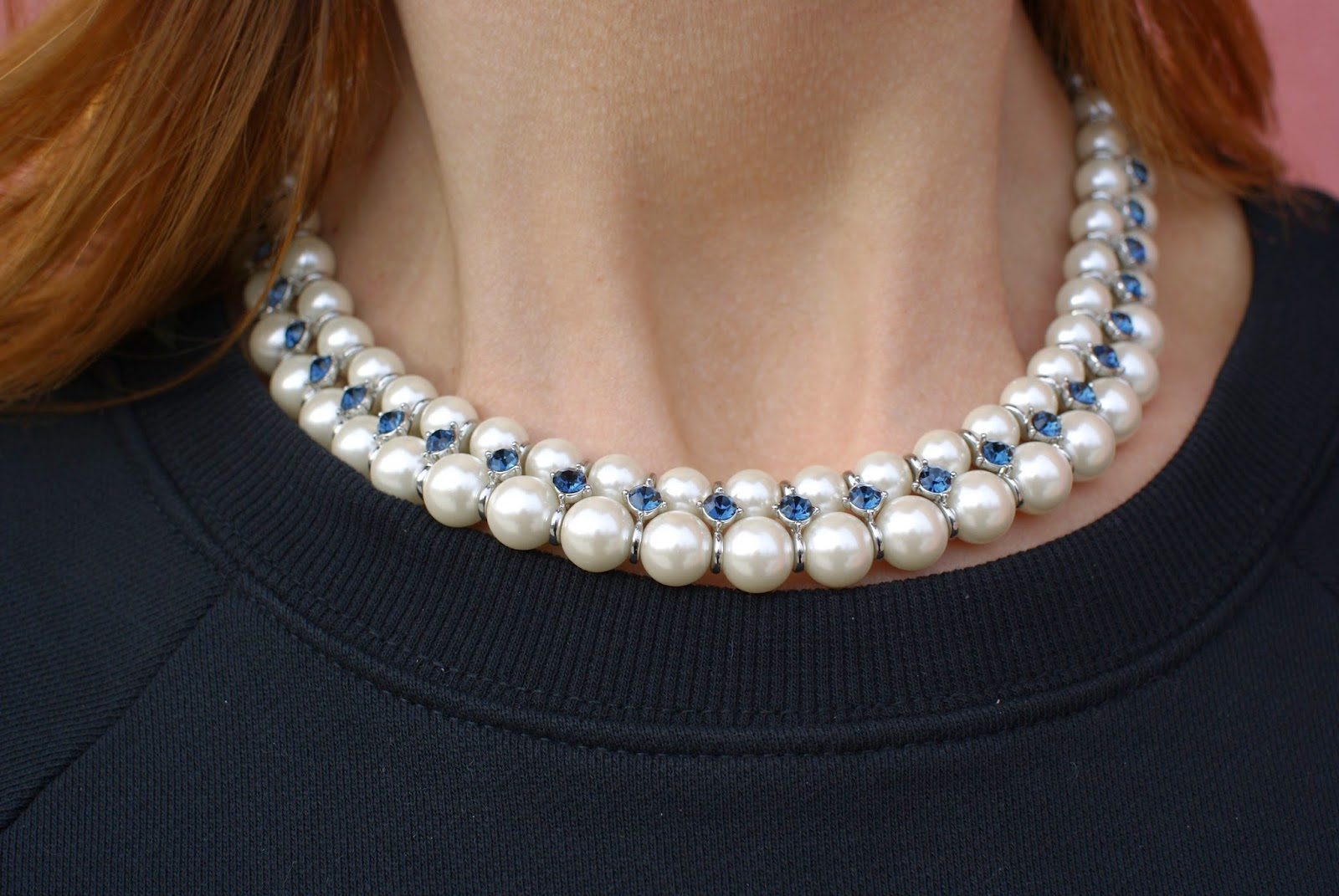Luca Barra pearl necklace, collana Betty Luca Barra, Fashion and Cookies fashion blog, fashion blogger