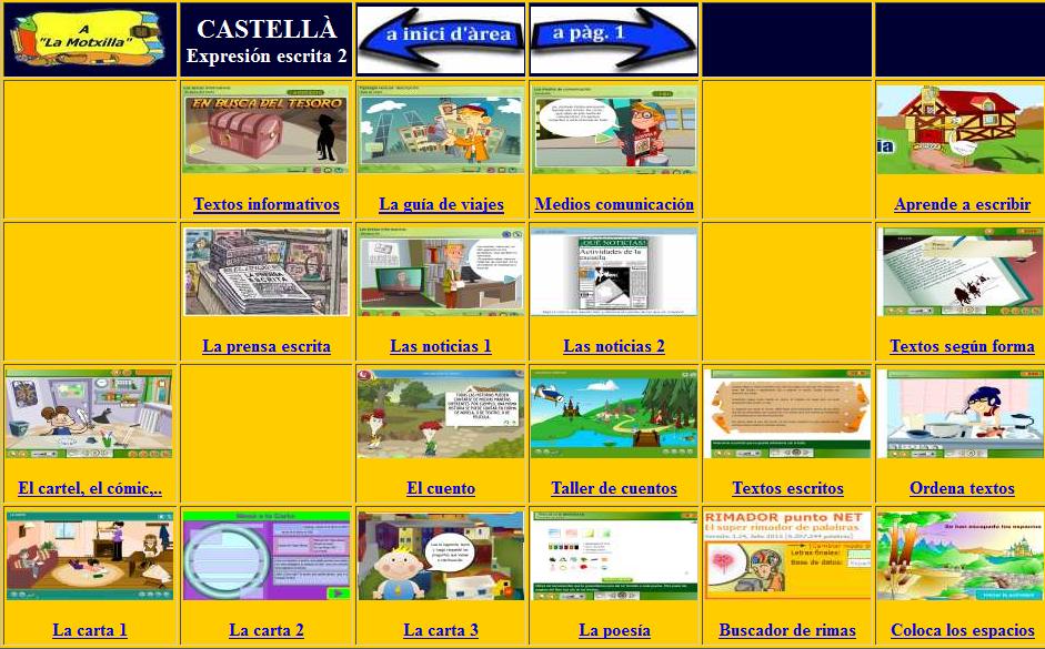http://www.ceip-diputacio.com/MITJA%20I%20SUPERIOR/castella/escrita2.htm