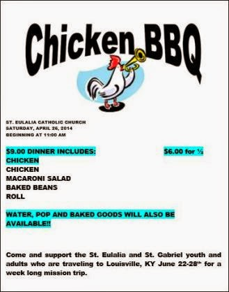 4-26 Chicken BBQ St. Eulalia