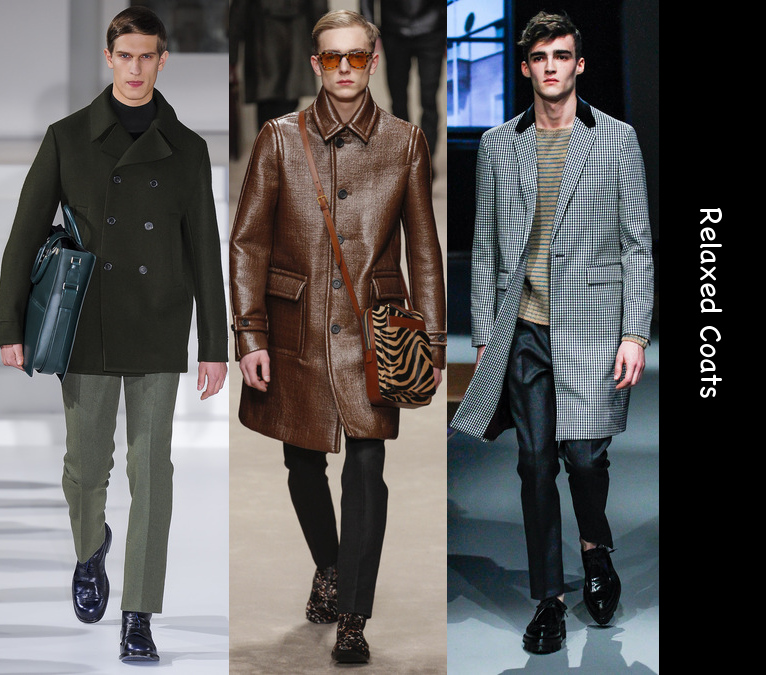mens fall 2013 relaxed coats trend