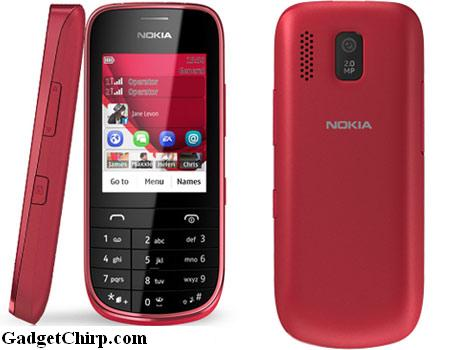 Nokia Asha 202 : Full Specs, Features & Price