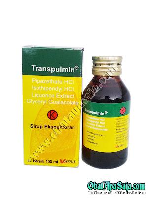 Transpulmin Sirup Ekspektoran Komposisi Dosis dan Harga