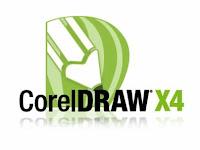 Yang pertama teman-teman lakukan adalah buka aplikasi corelDRAW X4.